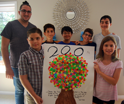 Junior Youth Group Marks First Anniversary