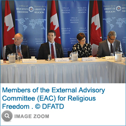 Members of the External Advisory Committee