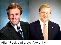 Lloyd Axworthy and Allan Rock