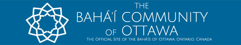 The Baha'is of Ottawa Header